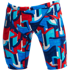 Funky Trunks Training Bañador Jammer Niños, block rock